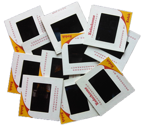 35 mm slides transfers